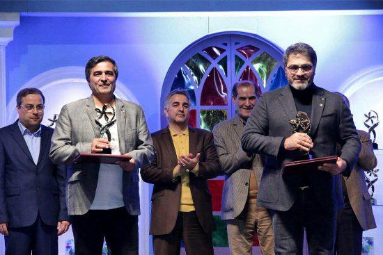 تندیس ویژه هیأت داوران جشنواره یاس به تهیه کنندگان «ساخت ایران» اهدا شد