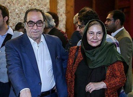 فریده سپاه منصور و همسرش هوشنگ توکلی