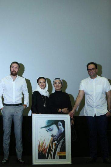 رونمایی از پرتره چاووشی با حضور عوامل «شهرزاد»