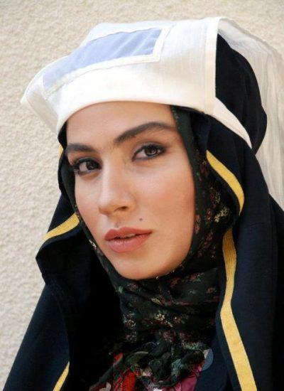 بهارک صالح نیا با گریم «یتیم خانه ایران»